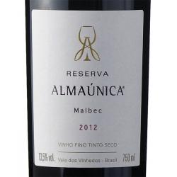 Almaúnica Reserva - Malbec - 2012