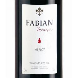 Fabian /intuição - Merlot 2015