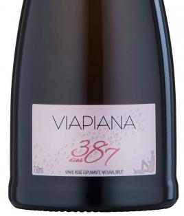 Viapiana - Espumante Brut Rosé 387 dias