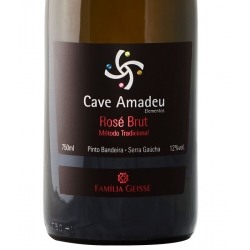 Cave Amadeu - Espumante Brut Rose