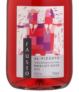 Fausto de Pizzato Rose - Merlot - 2015