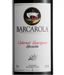 Barcarola Cab. Sauvignon 2010