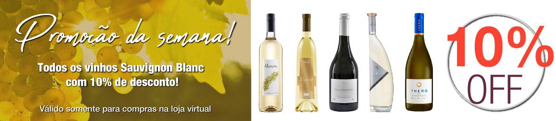 Essa semana, 10% OFF em todos os vinhos Sauvignon Blanc do site!!